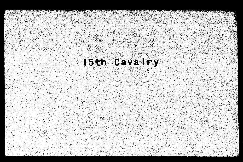 Descriptive roll, Fifteenth Regiment, Cavalry, Kansas Civil War Volunteers, volume 6 - 1