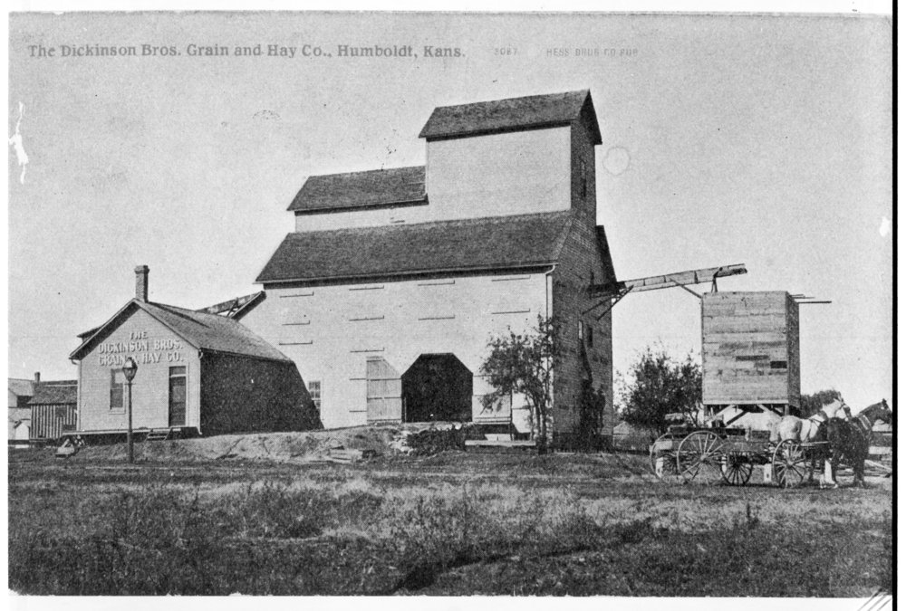 Dickinson Bros. Grain and Hay Co., Humboldt, Kansas