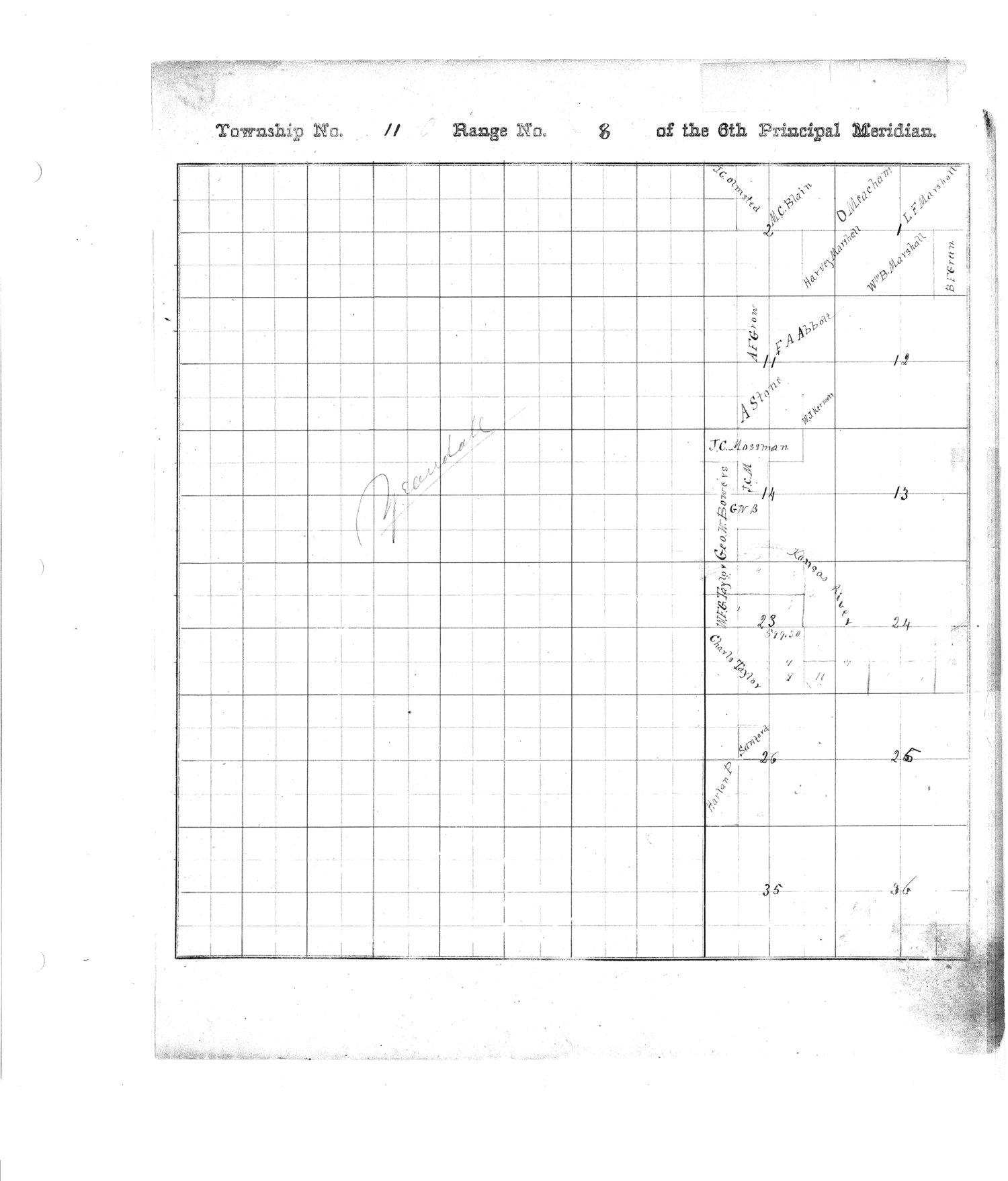 Richardson County and Wabaunsee County, Kansas, survey - 2