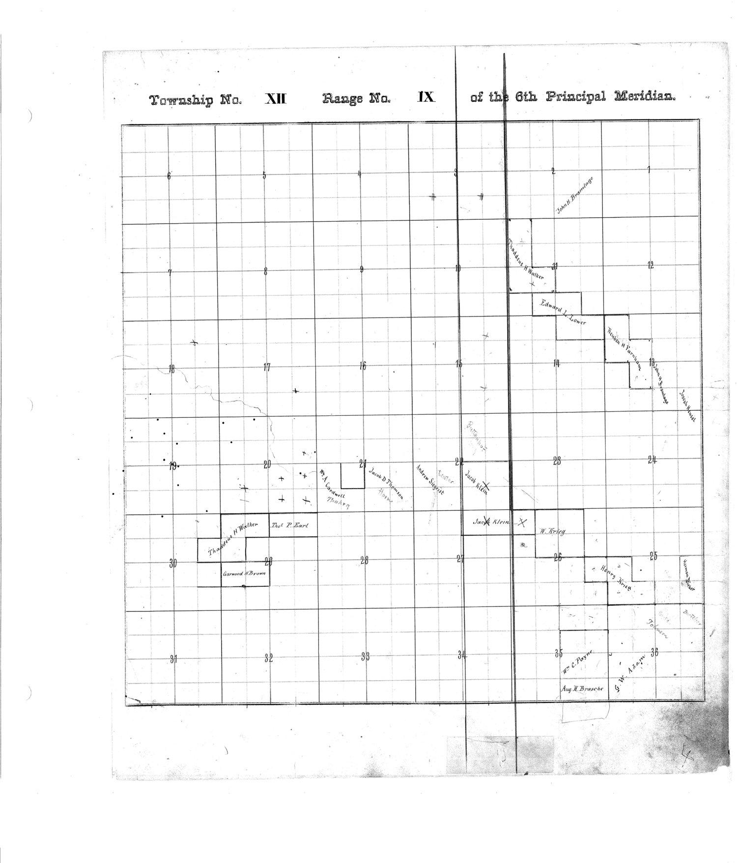 Richardson County and Wabaunsee County, Kansas, survey - 8