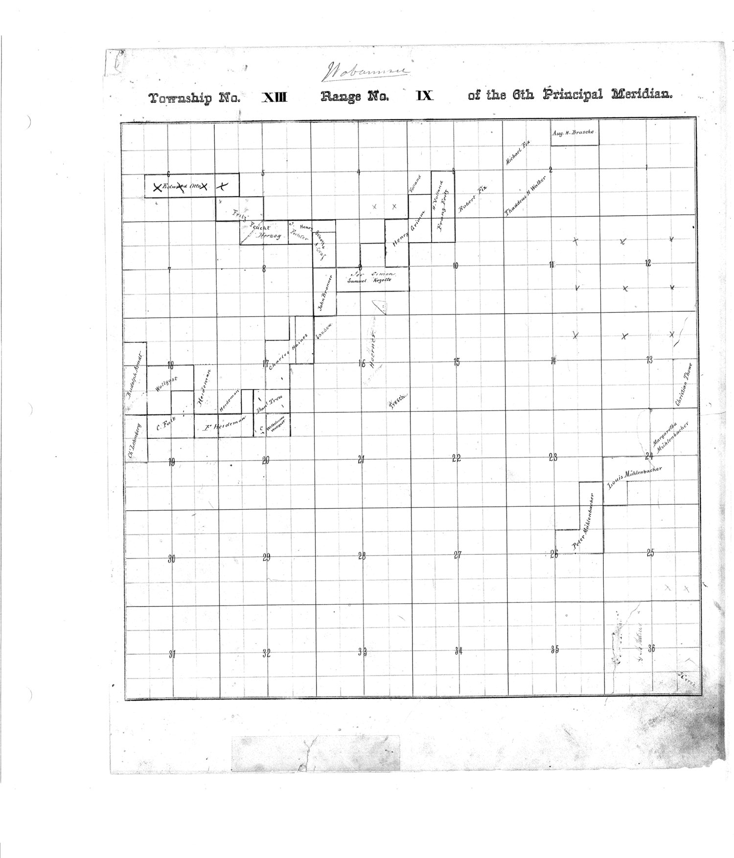 Richardson County and Wabaunsee County, Kansas, survey - 9