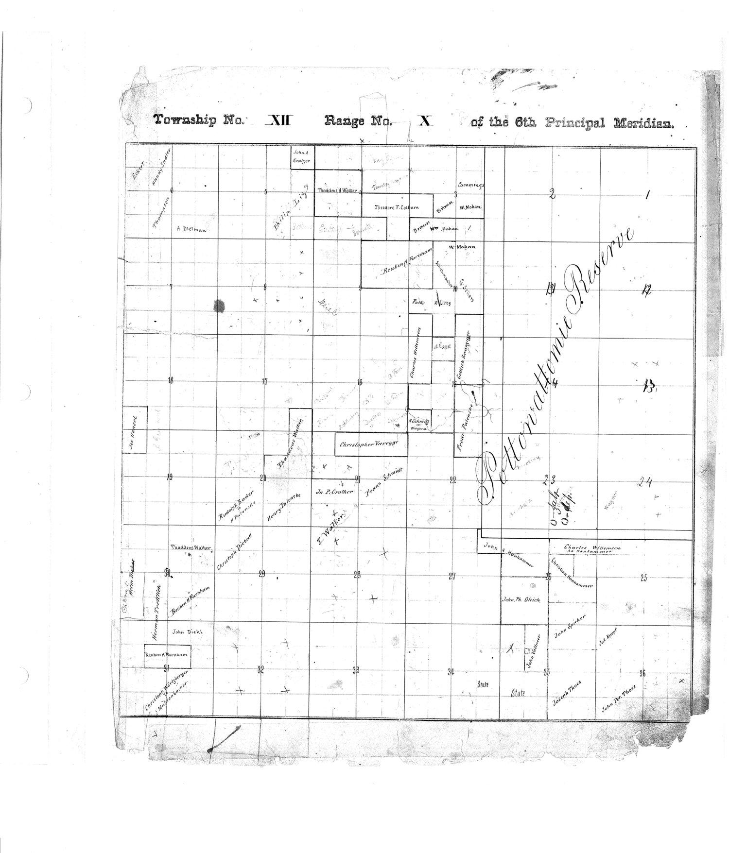Richardson County and Wabaunsee County, Kansas, survey - 11