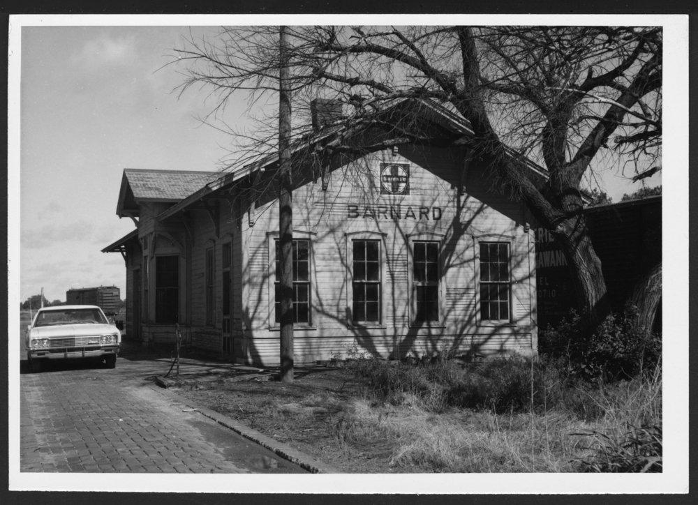 Atchison, Topeka and Santa Fe Railway Company depot, Barnard, Kansas