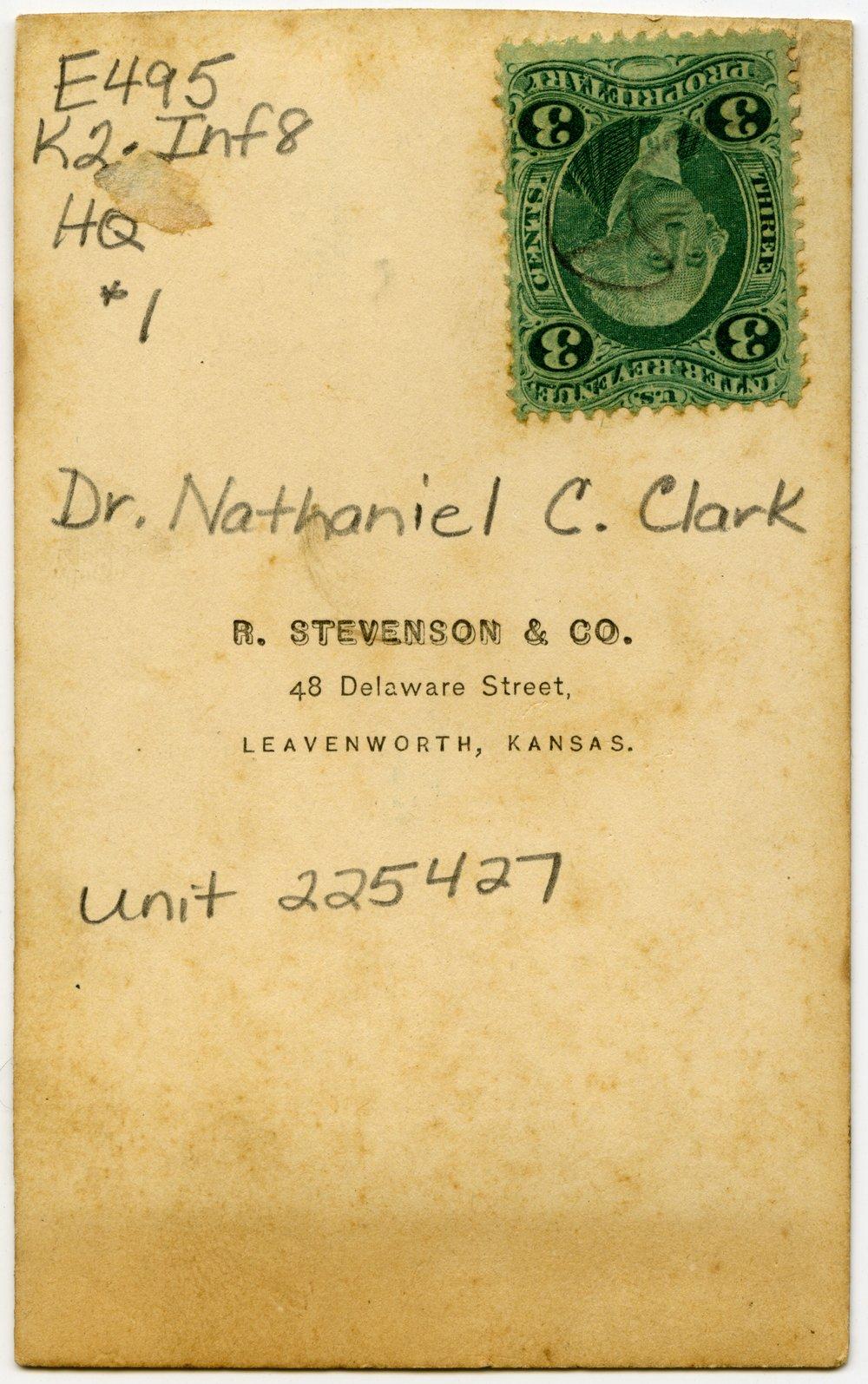Dr. Nathaniel C. Clark - 2