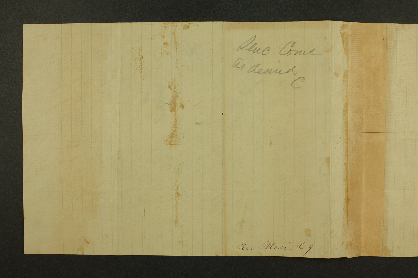 Kansas State Militia miscellaneous papers by county - 30