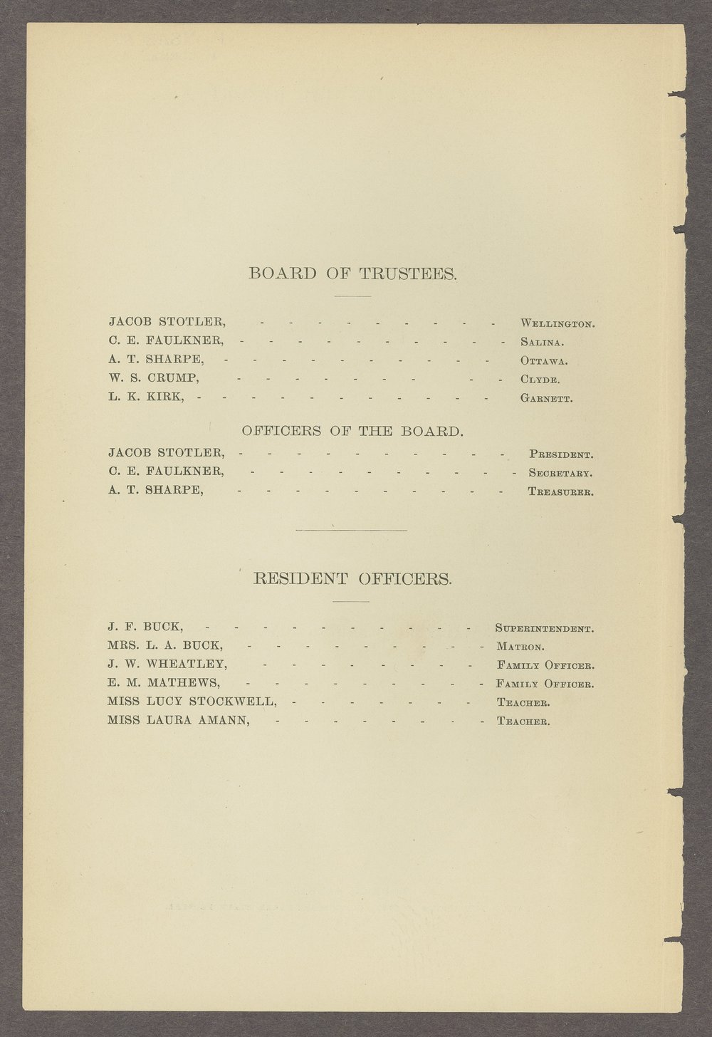 Biennial report of the State Reform School, 1888 - 2