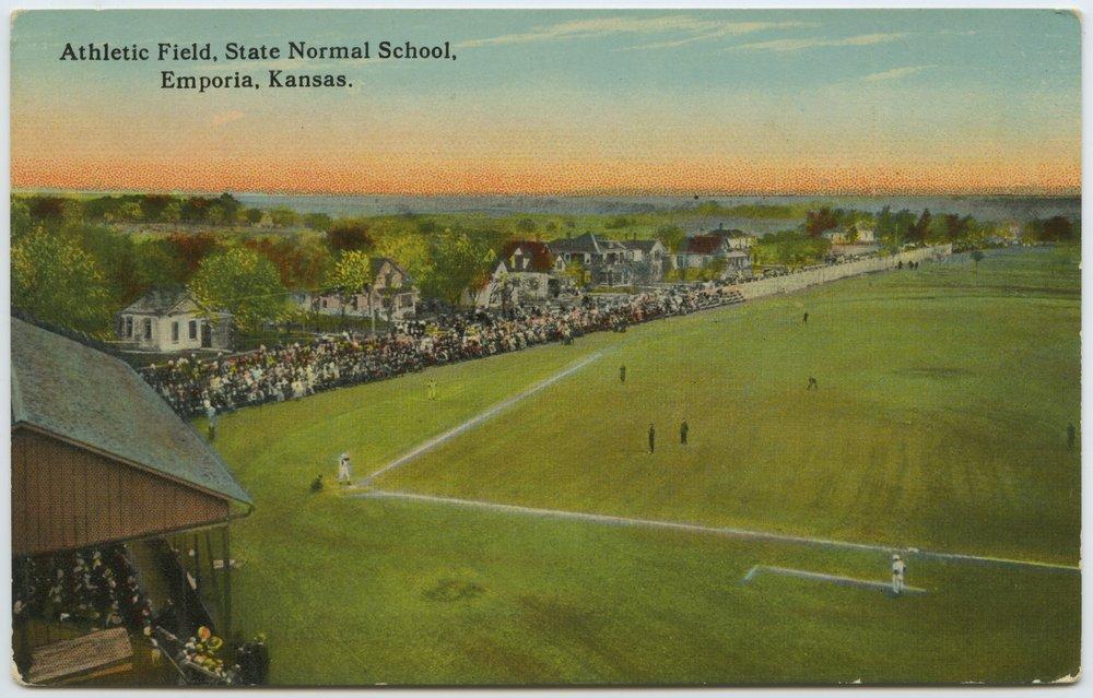 Baseball game, State Normal School, Emporia, Kansas - 1