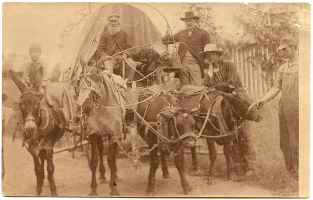 Covered wagon, Republic County, Kansas - 1