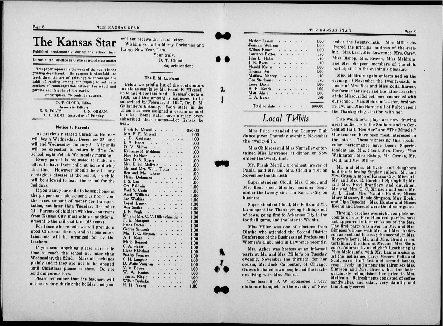 The Kansas Star, volume 50, number 6 - 8-9