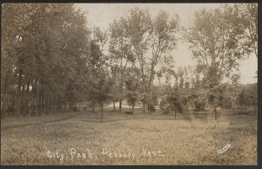 City park in Peabody, Kansas - 1