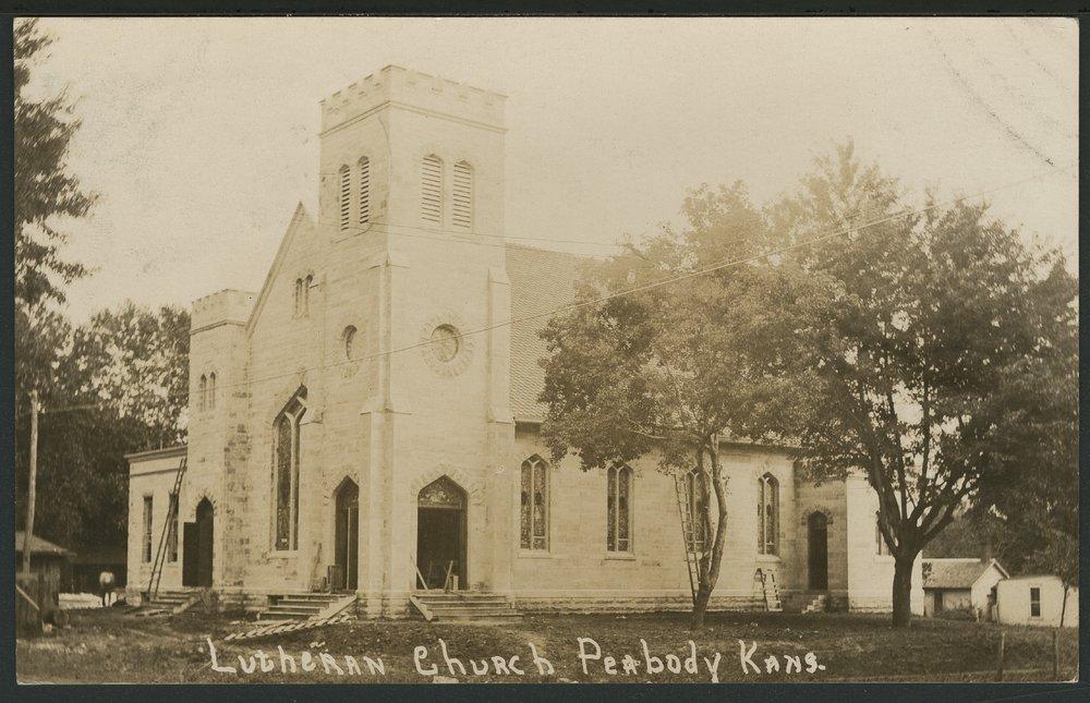 Lutheran Church in Peabody, Kansas - 1