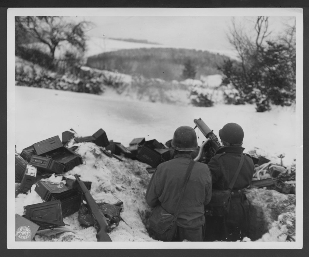 137th Infantry Regiment, 35th Division, Sainlez, Belgium - 1