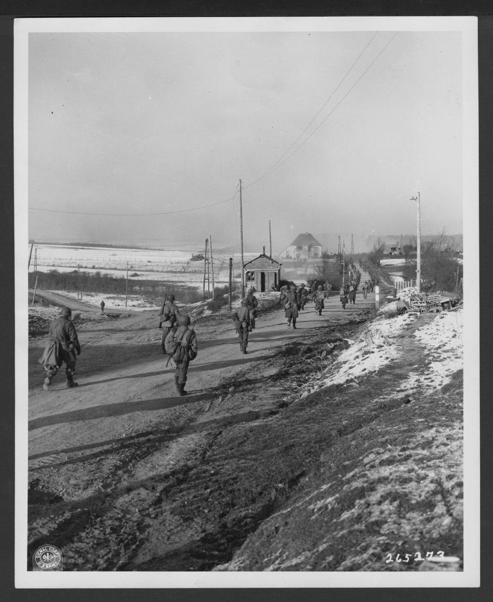137th Infantry Regiment, 35th Division, Tintange, Belgium - 1