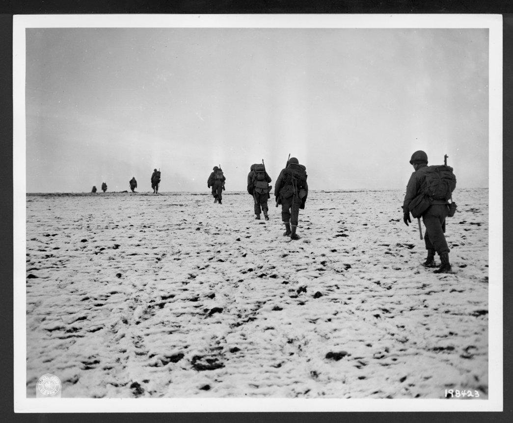 137th Infantry Regiment, 35th Division, Belgium, Luxemborg - 1