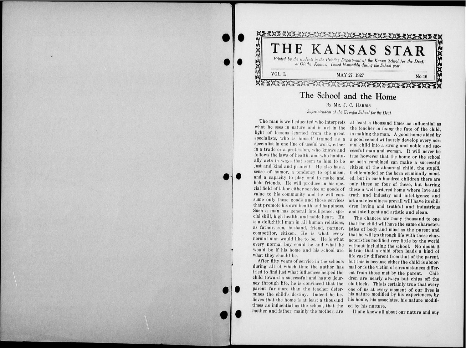 The Kansas Star, volume 50, number 16 - Inside cover-2