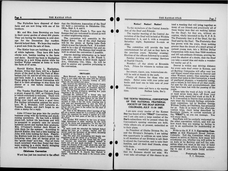The Kansas Star, volume 50, number 16 - 6-7