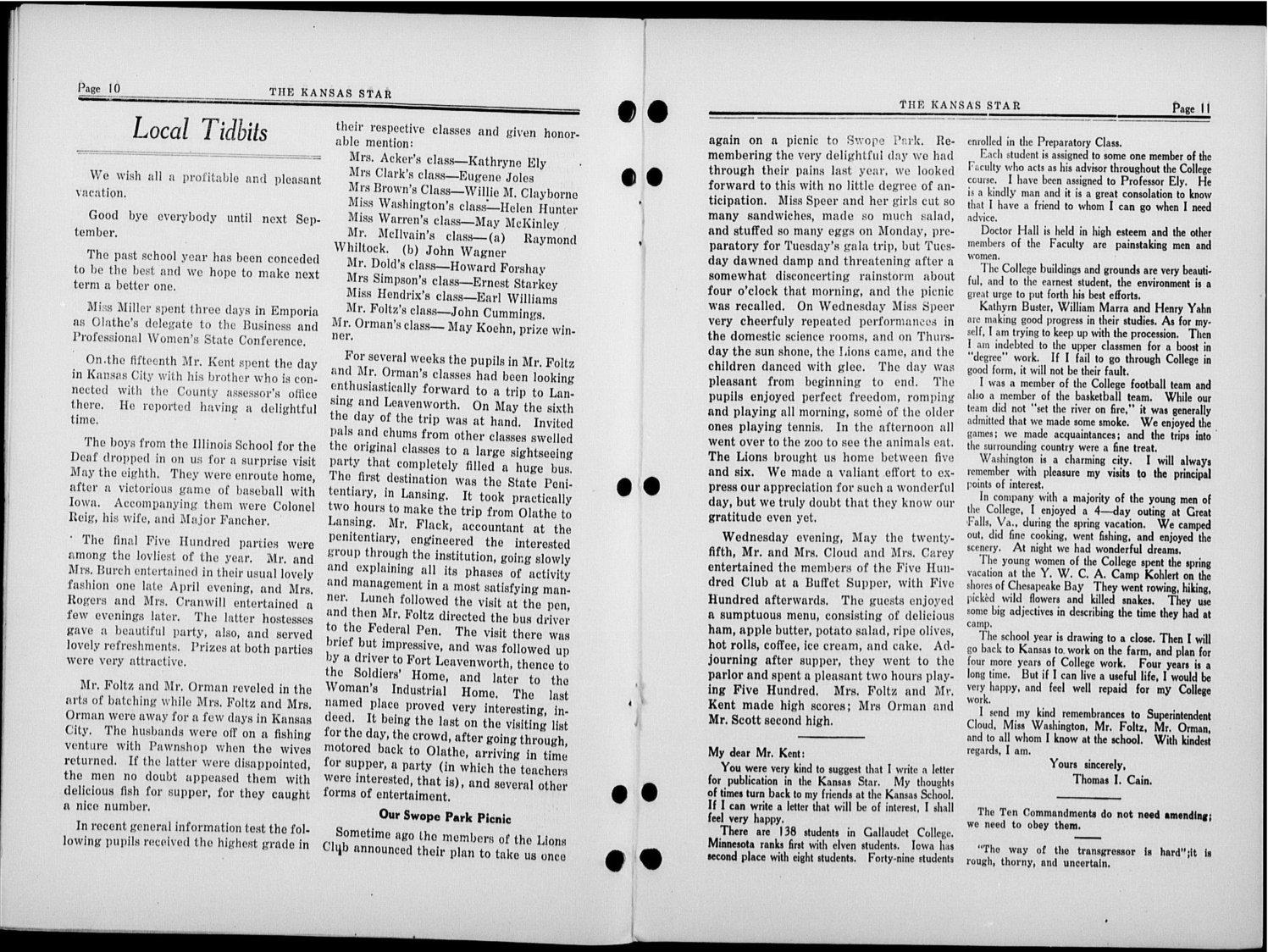 The Kansas Star, volume 50, number 16 - 10-11