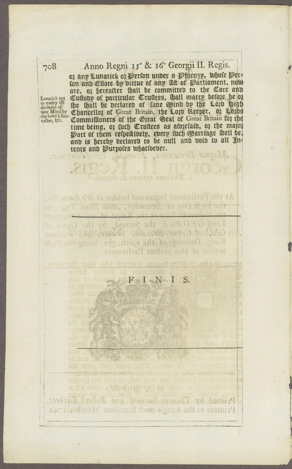 King George III materials - 3