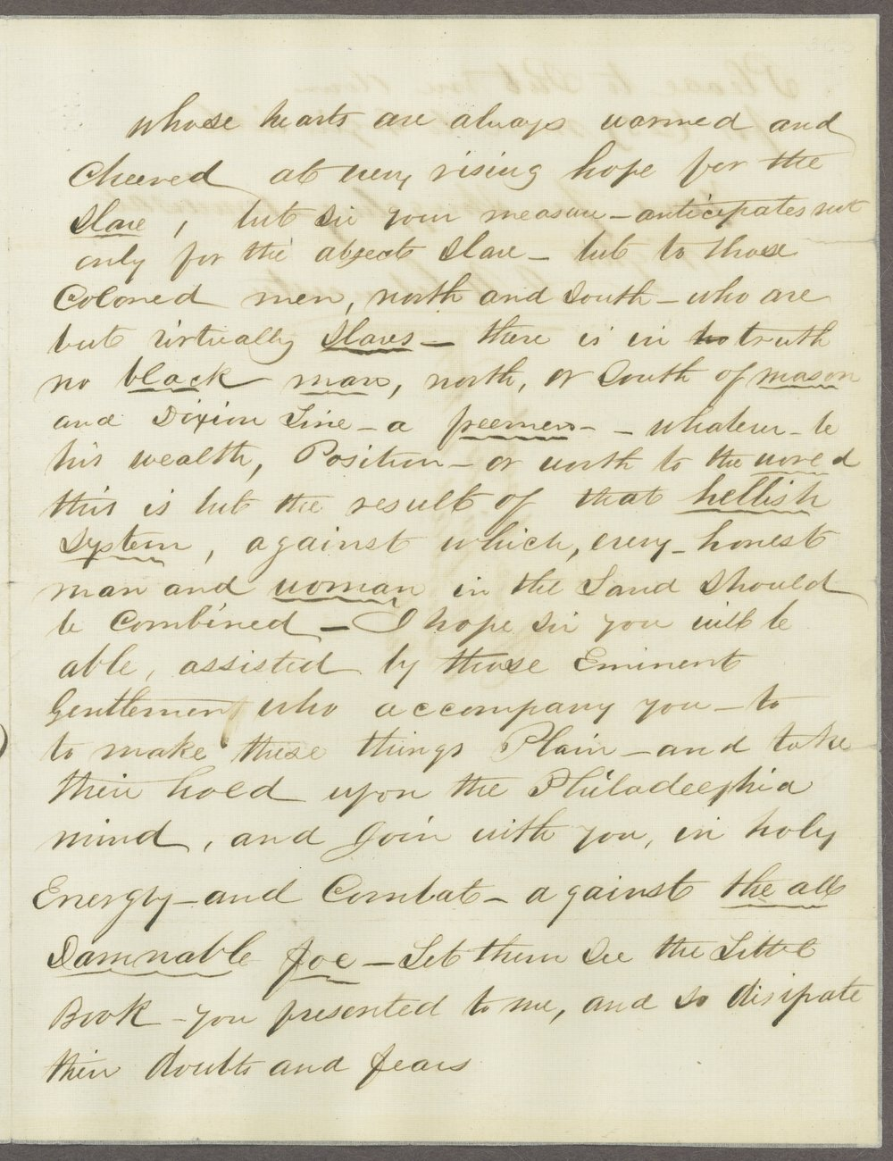James N. Gloucester to John Brown - 3