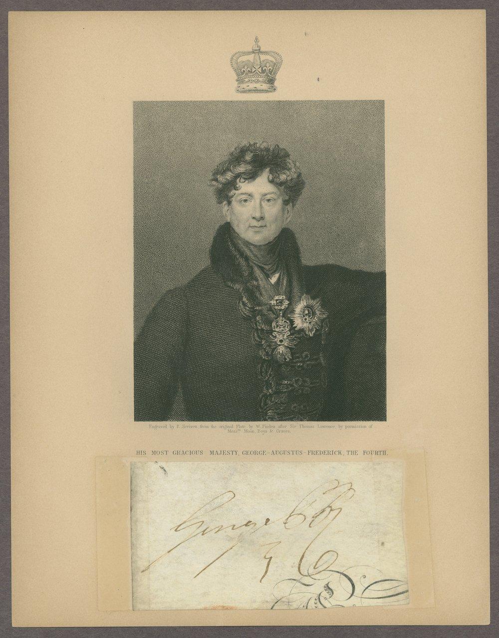 King George III materials - 1 [Box 1, Folder 28]