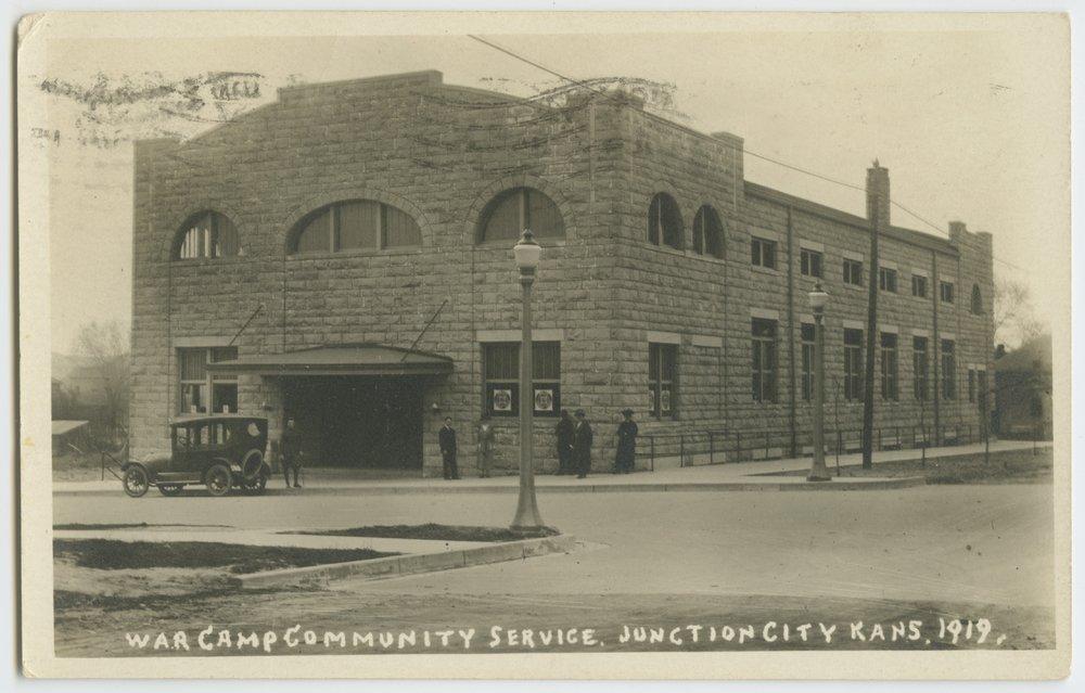 War Camp Community Service building in Junction City, Kansas - 1