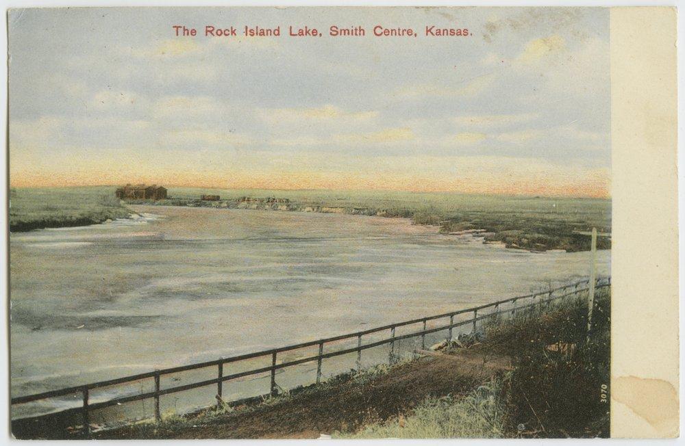 Rock Island Lake in Smith Centre [Center], Kansas - 1