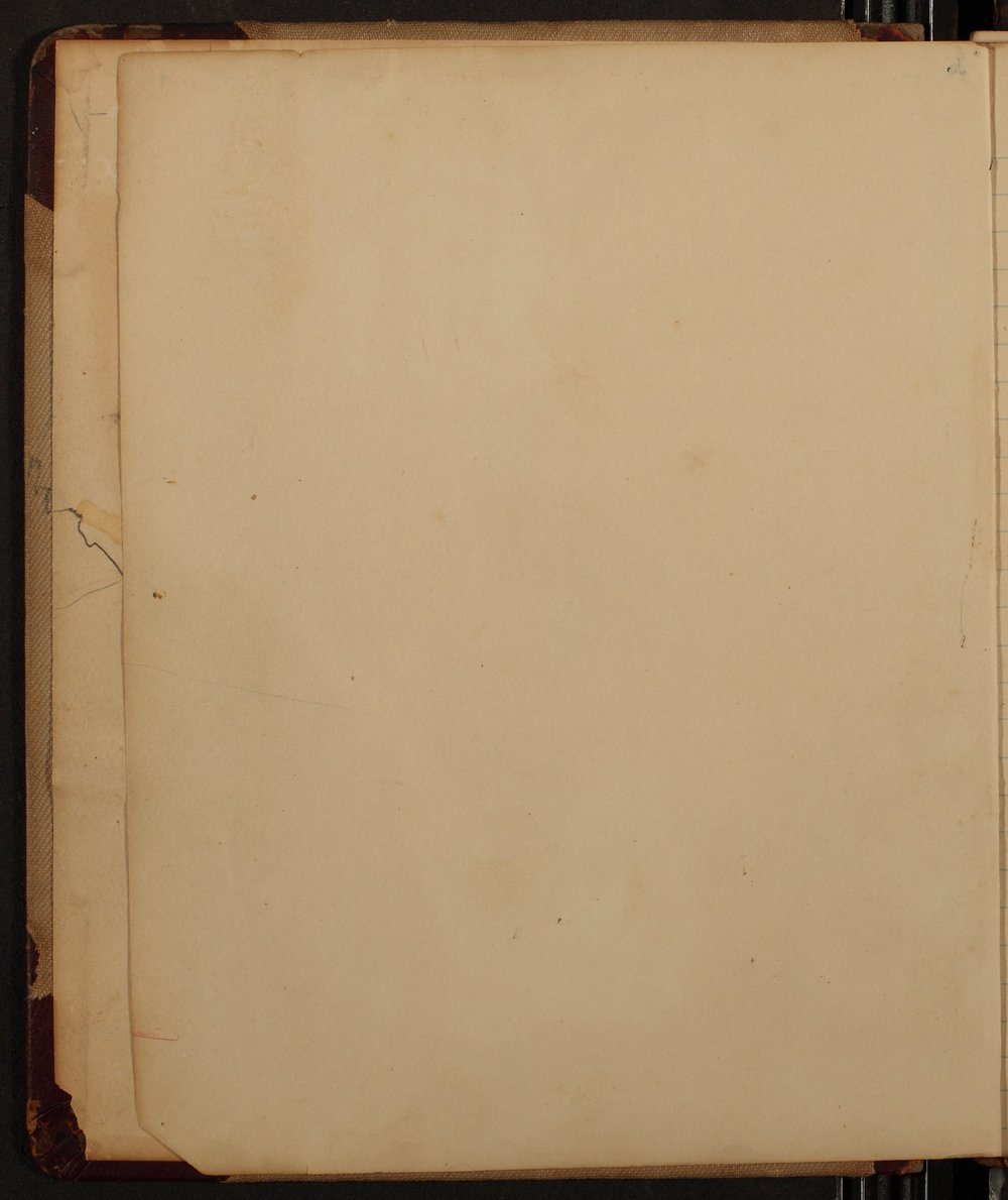 Minutes of the McPherson Chapter of the Woman's Christian Temperance Union - blank page