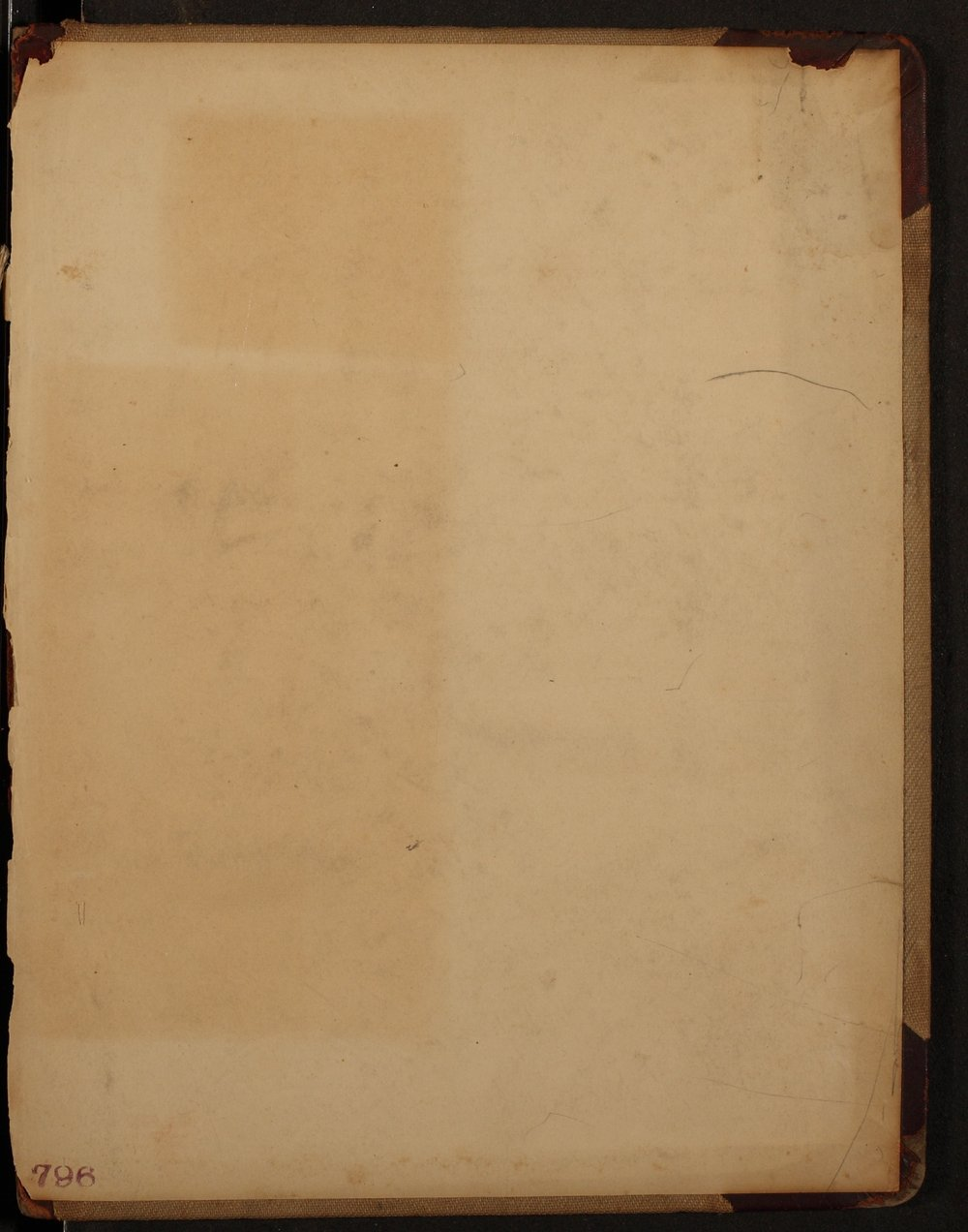 Minutes of the McPherson Chapter of the Woman's Christian Temperance Union - Inside Back Cover