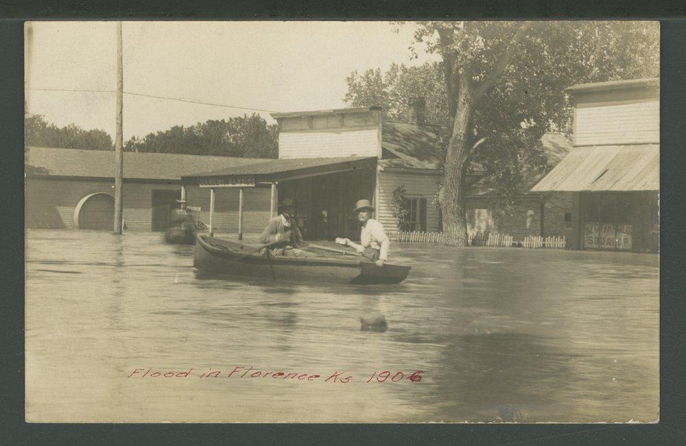 Flood in Florence, Kansas - 1