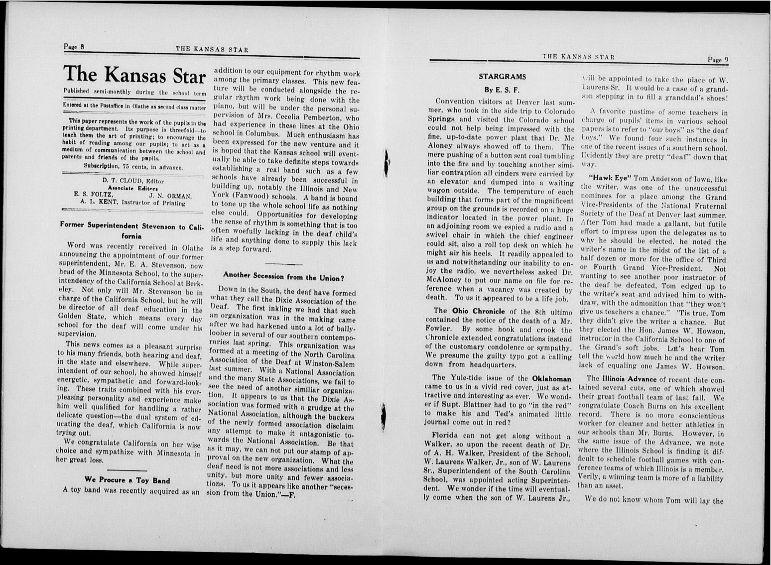 The Kansas Star, volume 51, number 6 - 8-9