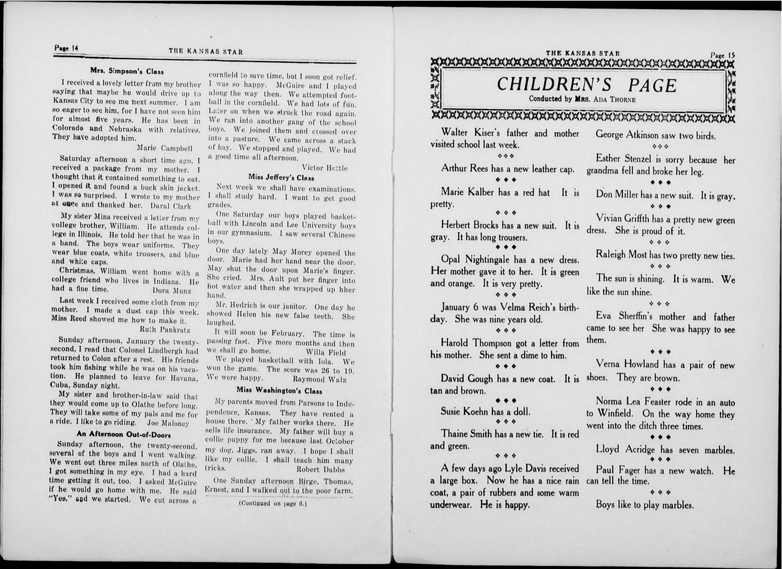 The Kansas Star, volume 51, number 6 - 14-15