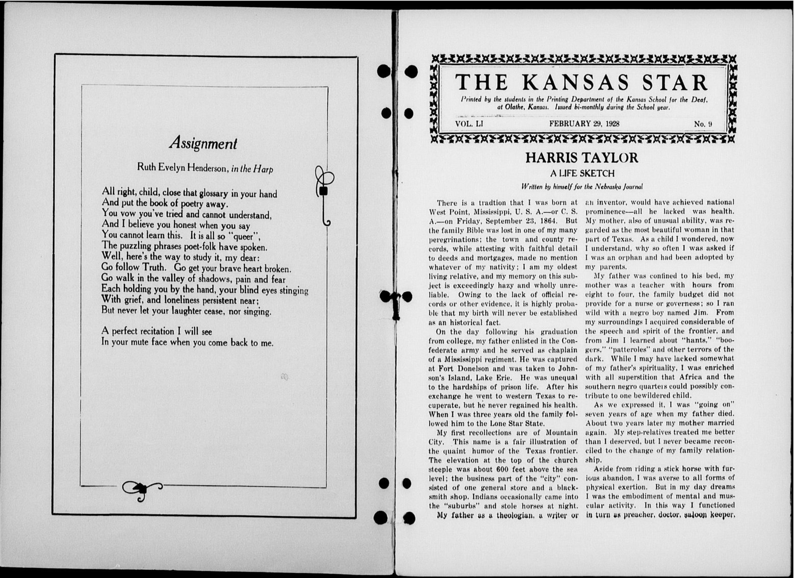 The Kansas Star, volume 51, number 8 - Inside cover -1