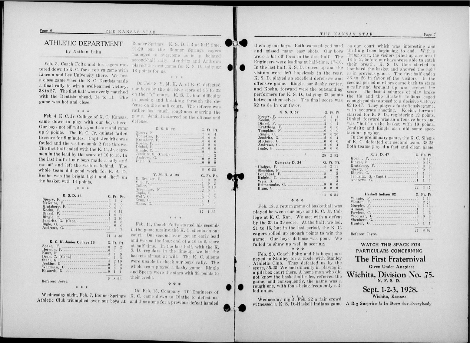 The Kansas Star, volume 51, number 8 - 6-7