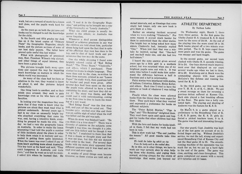 The Kansas Star, volume 51, number 11 - 2-3