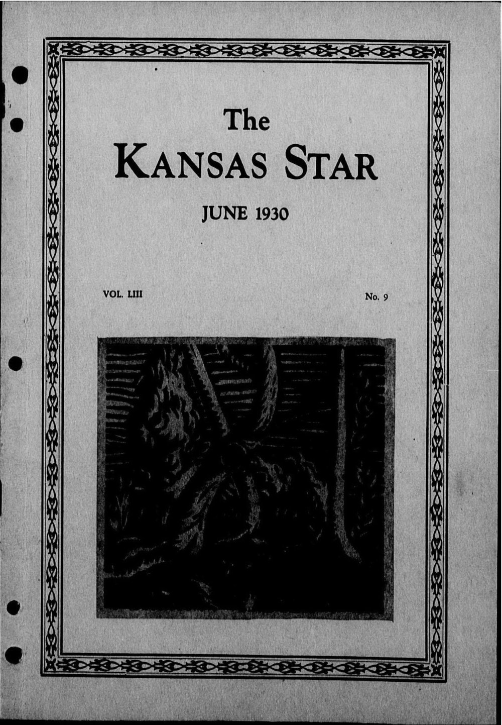 The Kansas Star, volume 53, number 9 - Front cover