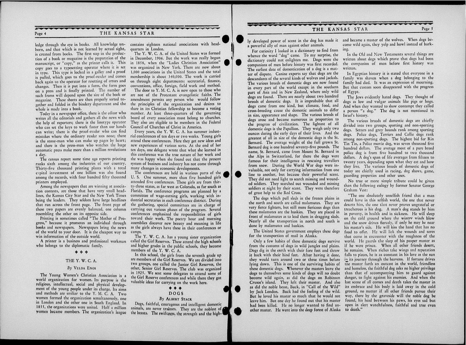 The Kansas Star, volume 53, number 9 - 4-5