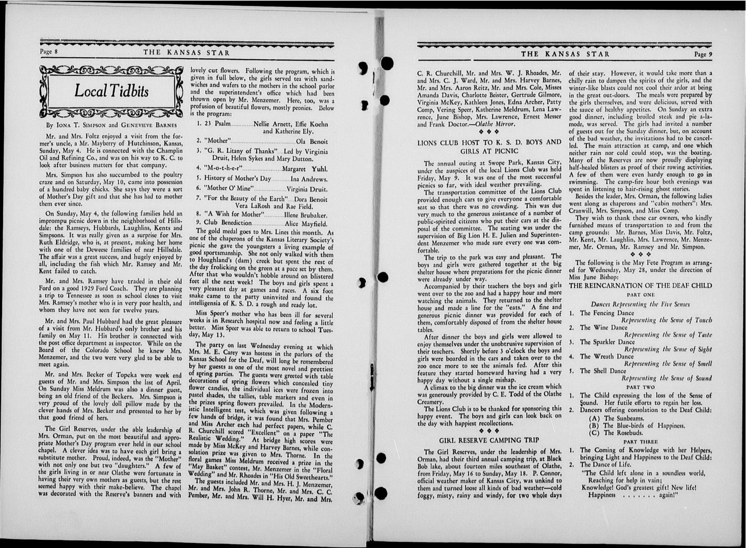 The Kansas Star, volume 53, number 9 - 8-9