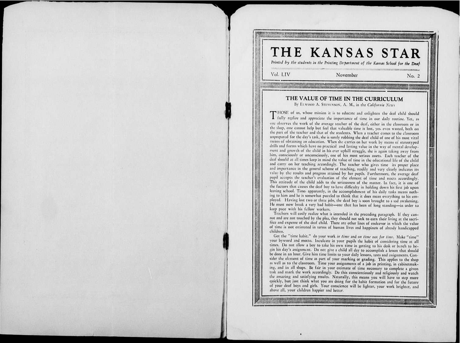 The Kansas Star, volume 44, number 2 - Inside cover-1