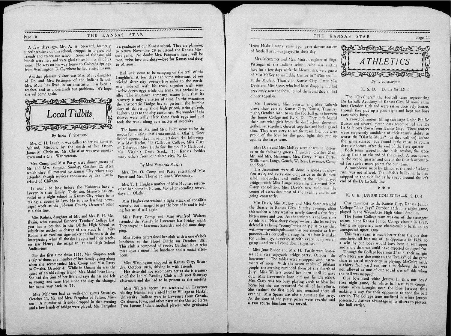The Kansas Star, volume 44, number 2 - 10-11