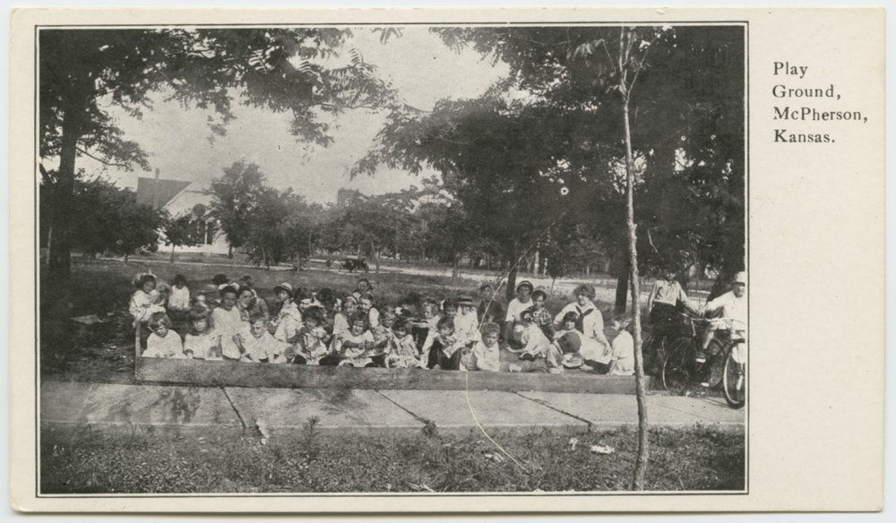 Playground in McPherson, Kansas - 1