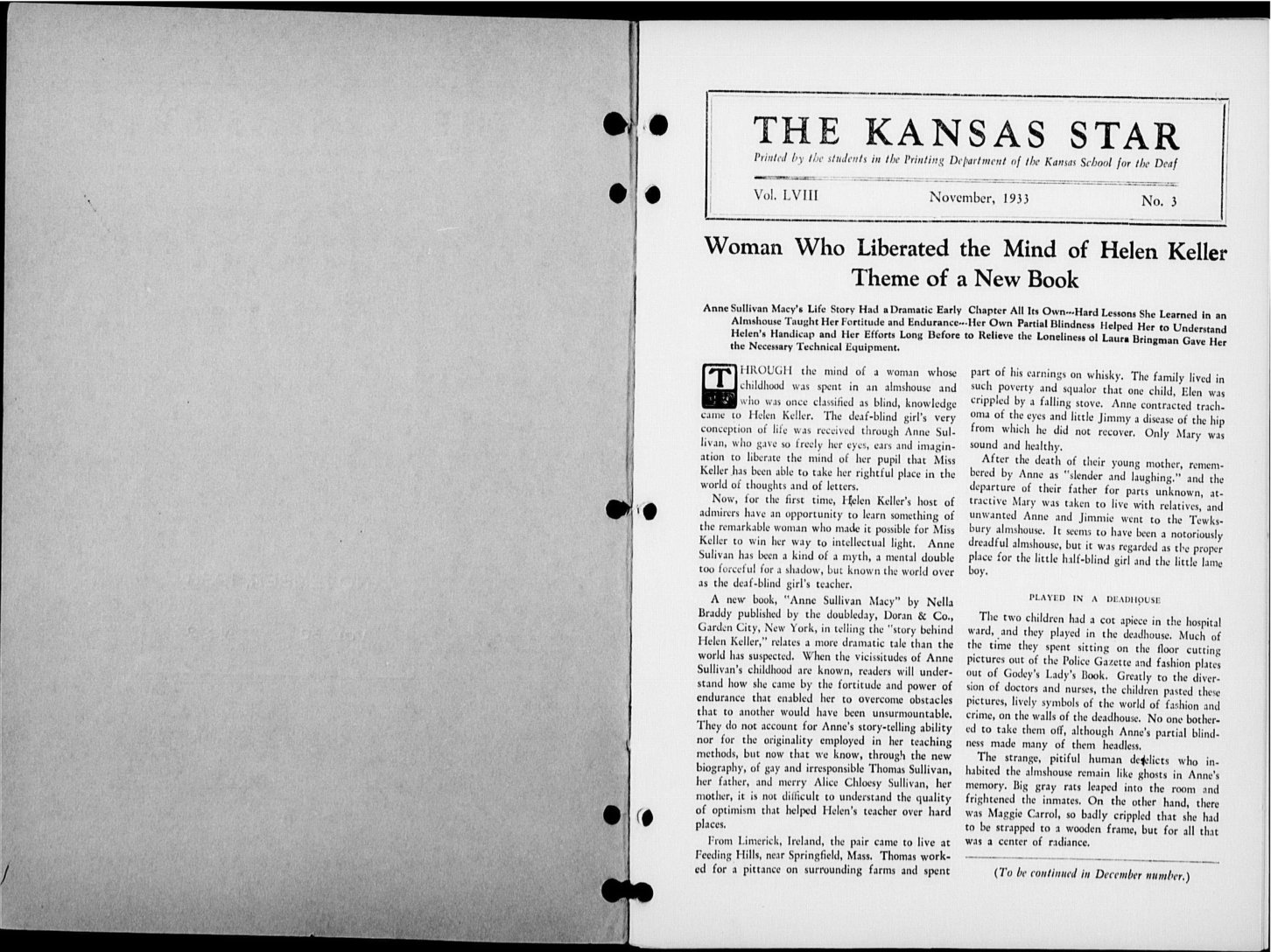 The Kansas Star, volume 58, number 3 - Inside cover-1