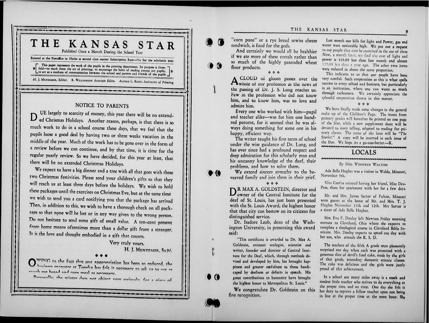 The Kansas Star, volume 58, number 3 - 8-9