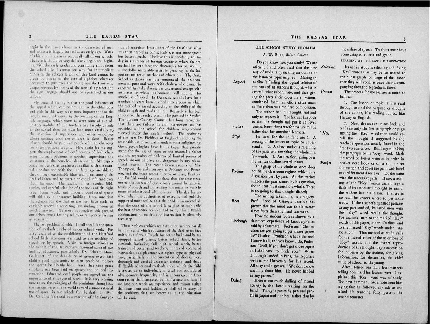 The Kansas Star, volume 58, number 3 - 2-3