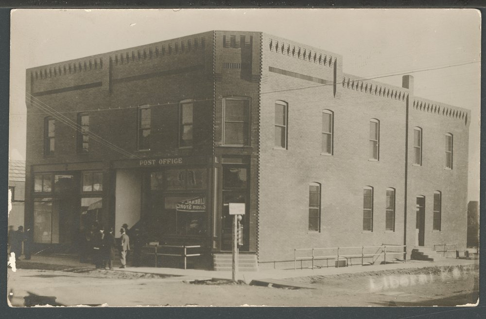 Post office building, Liberal, Kansas