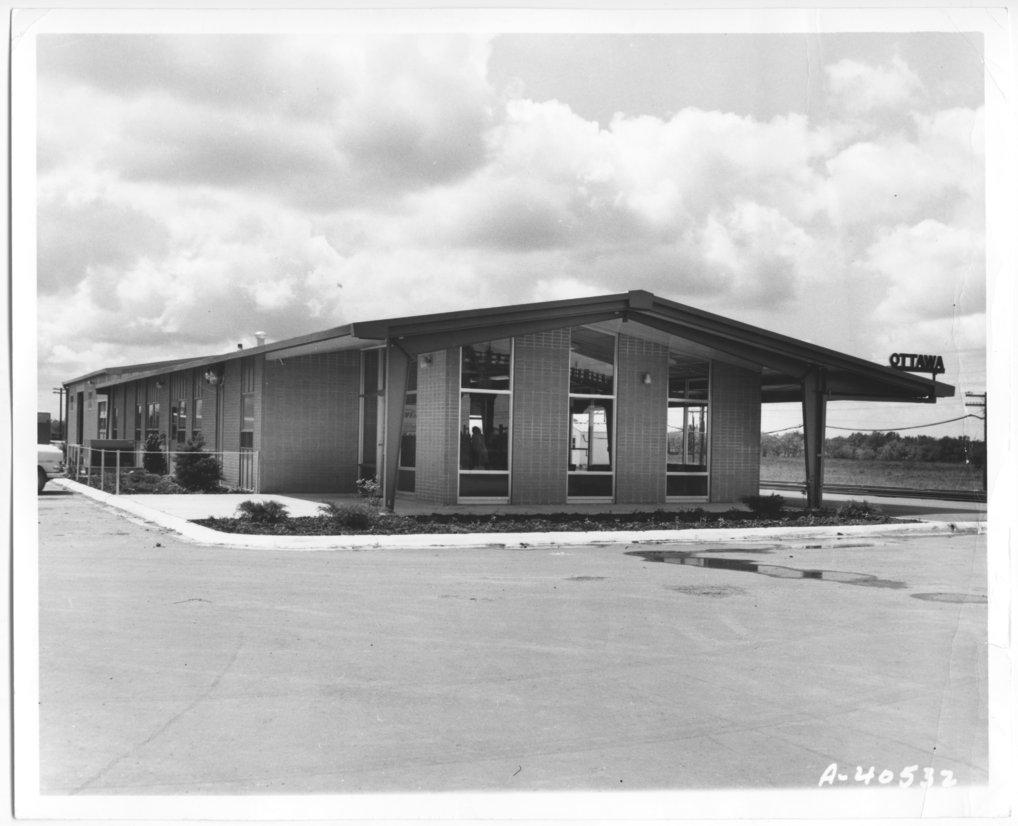 Atchison, Topeka and Santa Fe Railway Company depot, Ottawa, Kansas