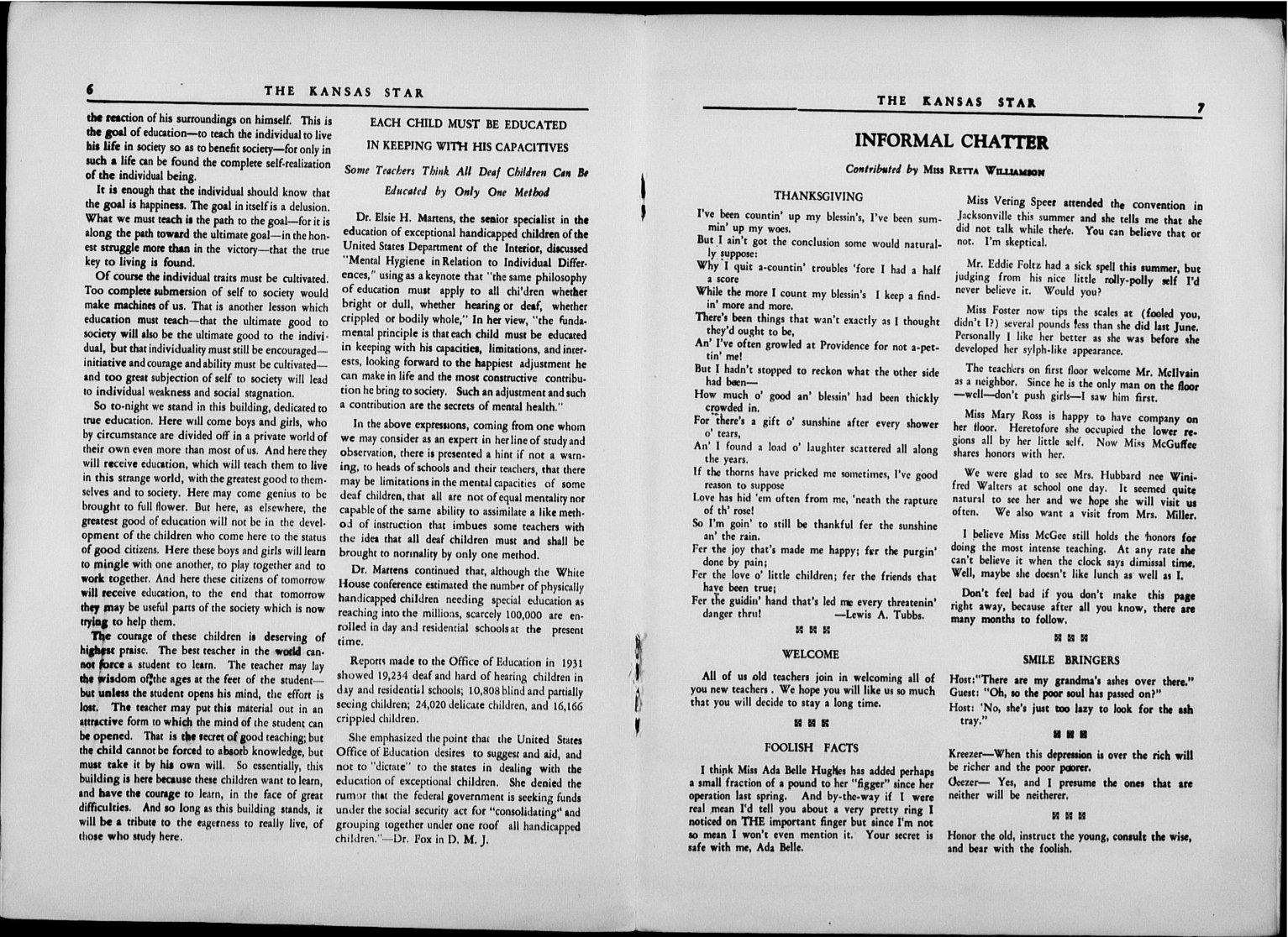 The Kansas Star, volume 50, number 1 - 6-7