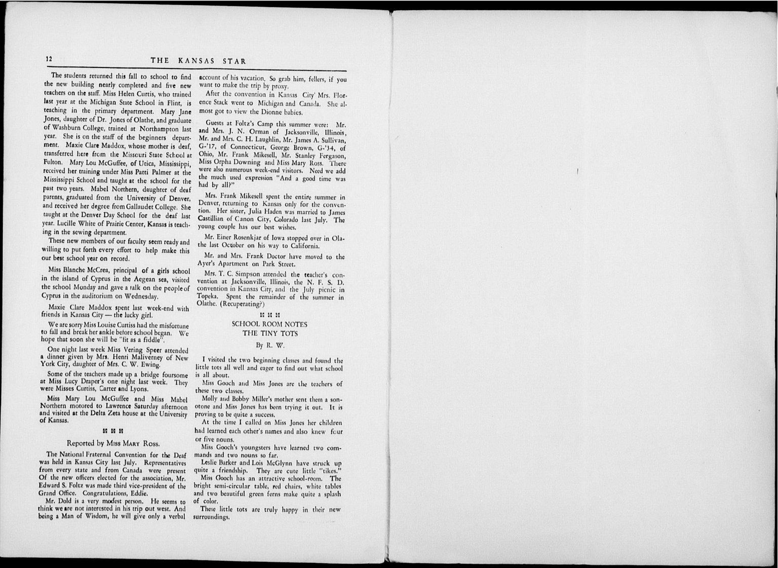 The Kansas Star, volume 50, number 1 - 12-Inside back