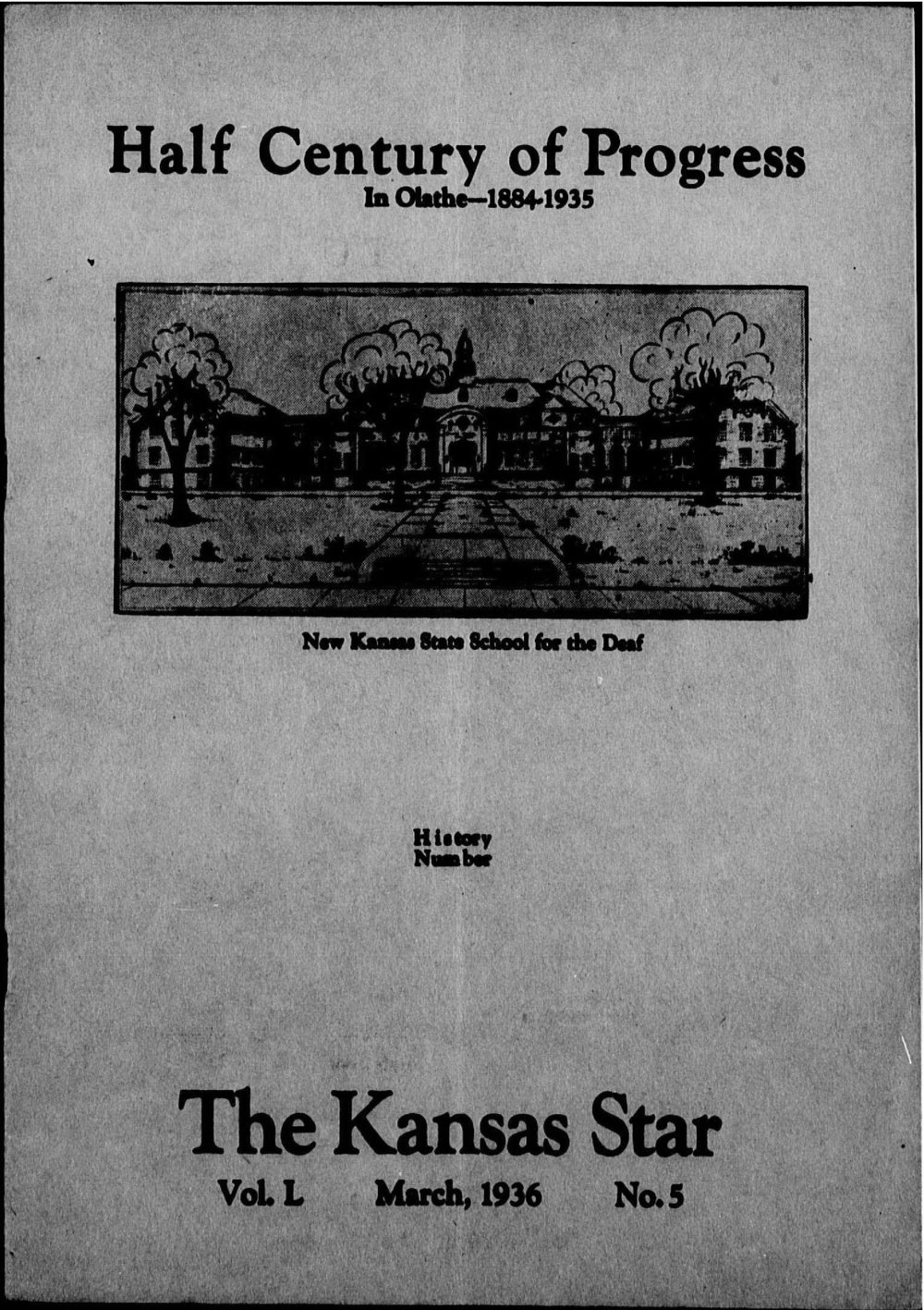 The Kansas Star, volume 50, number 5 - Front cover