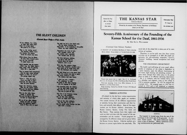 The Kansas Star, volume 50, number 5 - Inside cover-1