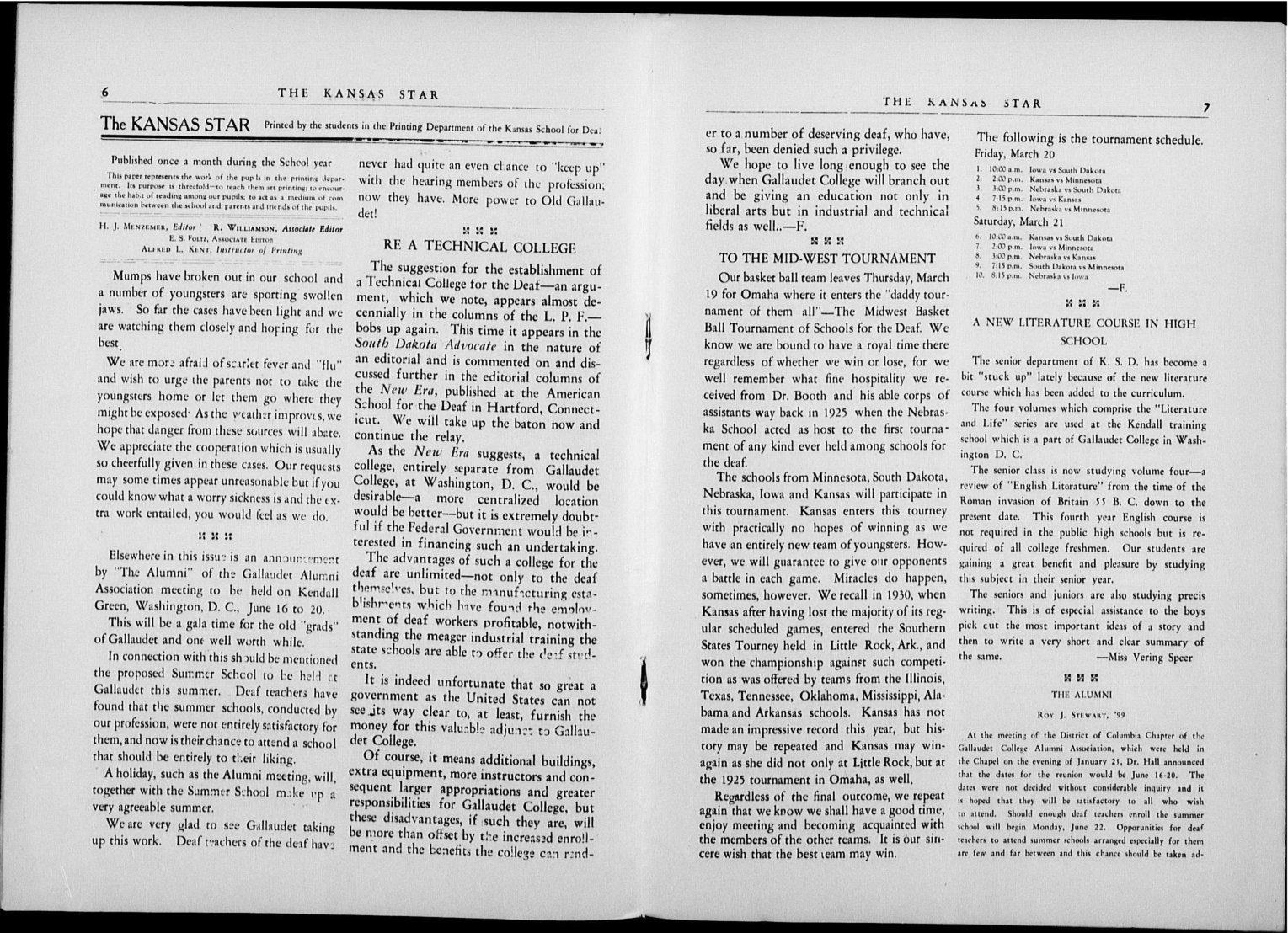 The Kansas Star, volume 50, number 5 - 6-7